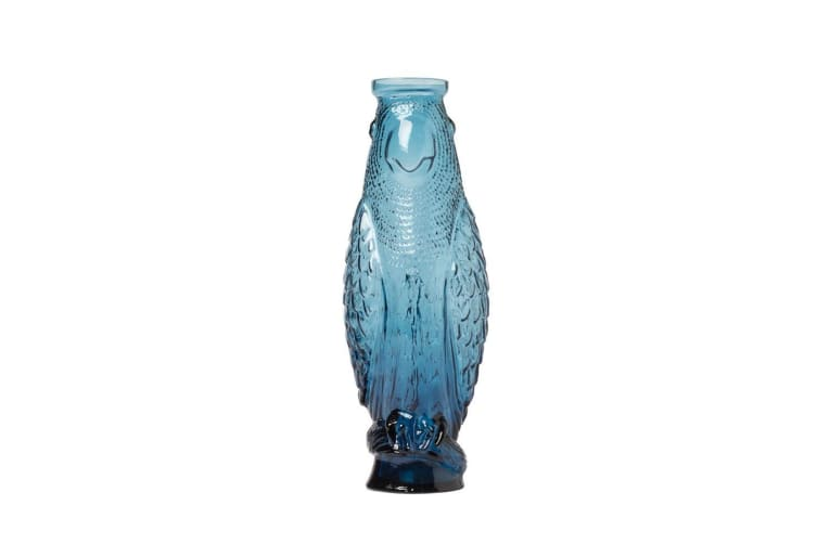 Doiy Cockatoo Carafe Blue