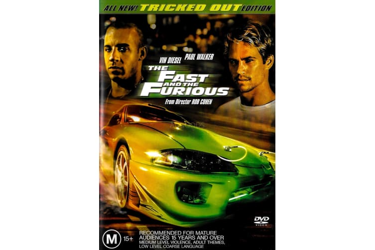 The Fast And The Furious Widescreen Collectors Edition - Region 4 Preowned DVD: DISC LIKE NEW