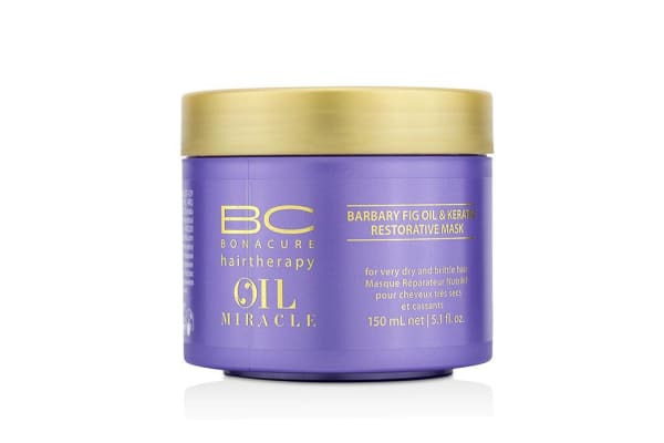 Schwarzkopf BC Oil Miracle Barbary Fig Oil & Keratin Restorative Mask (For Very Dry and Brittle Hair) (150ml/5.1oz)