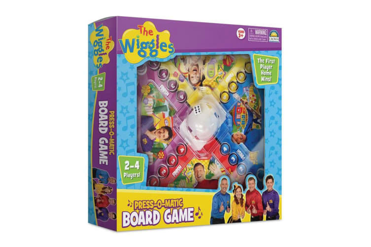 2x The Wiggles Press O Matic Kids/Children 3y+ Adult/Family Board Table Game Toy