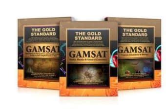 Gold Standard GAMSAT - Complete 3 Book Set