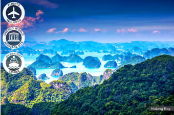 VIETNAM: 10 Day Highlights of Vietnam Tour Including Flights for Two
