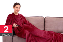 Deluxe Sleeved Blanket (2 Pack)
