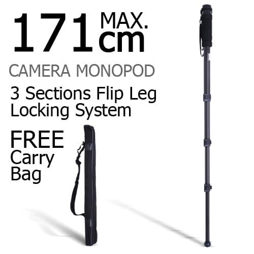 Image of Professional Digital Camera DSLR SLR Monopod