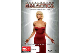 Battlestar Galactica Season 4 DVD Region 4