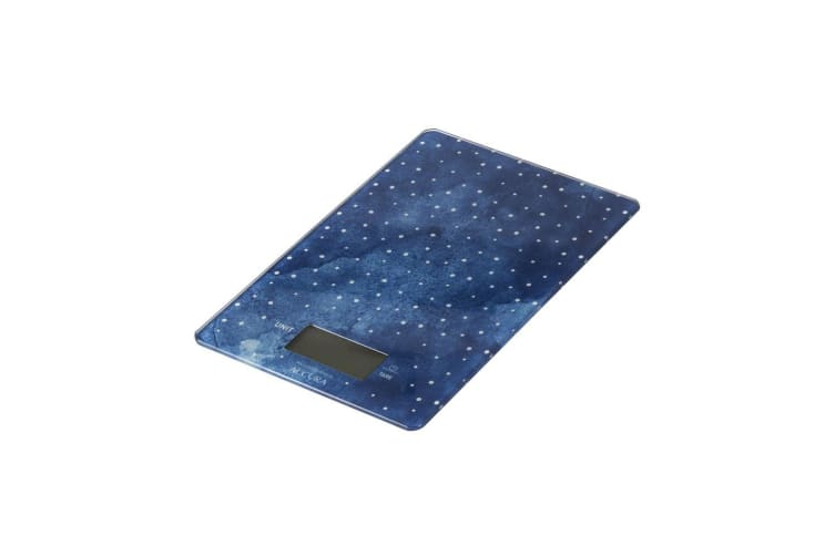 Accura Pluto Electronic Kitchen Scale 5kg Blue Dots