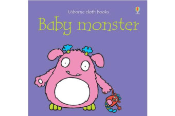 Baby Monster Cloth Book