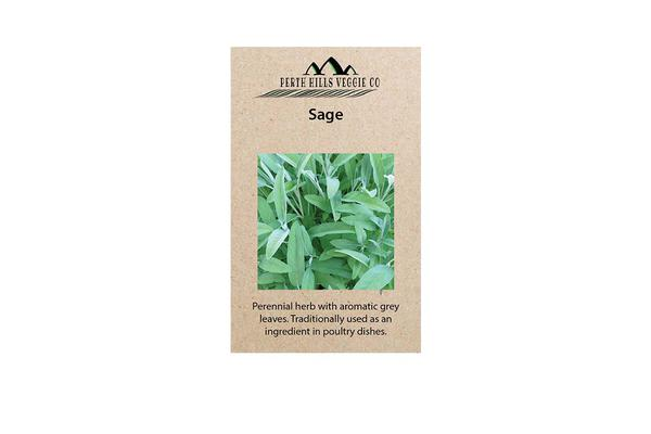 Perth Hills Veggie Co Herb Seeds Sage