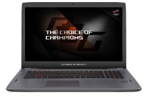"ASUS 17.3"" ROG Core i7-7700HQ 16GB RAM 1TB HDD + 256GB SSD GTX 1070 8GB Full HD Titanium Gold Notebook (GL702VS-BA036T)"
