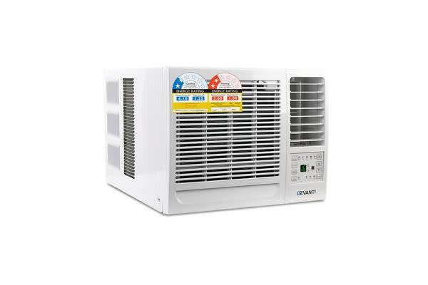 Devanti Window Wall Box Air Conditioner 4.1kW (White)