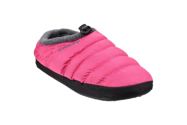 Cotswold Camping Womens Slippers (Pink) (Large)