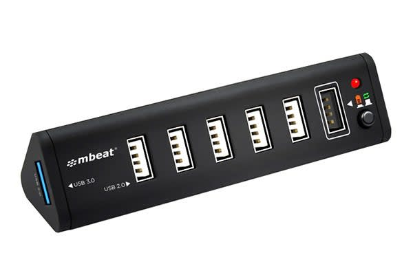 mbeat 7 Port USB 3.0 Hub with 2.1A Smart Charging Function (HUB716)