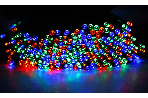 Image of 100LED 15m Solar Power Waterproof String Light