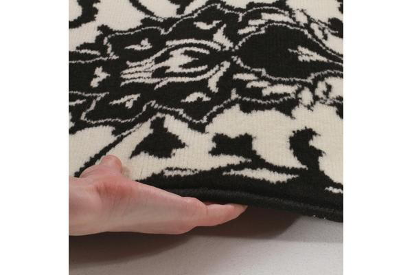 Funky Lace Design Rug Black 230x160cm