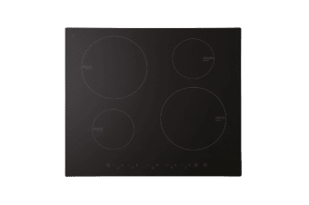 Euro Cooktop Induction 600mm Black Glass  ECT60ICB