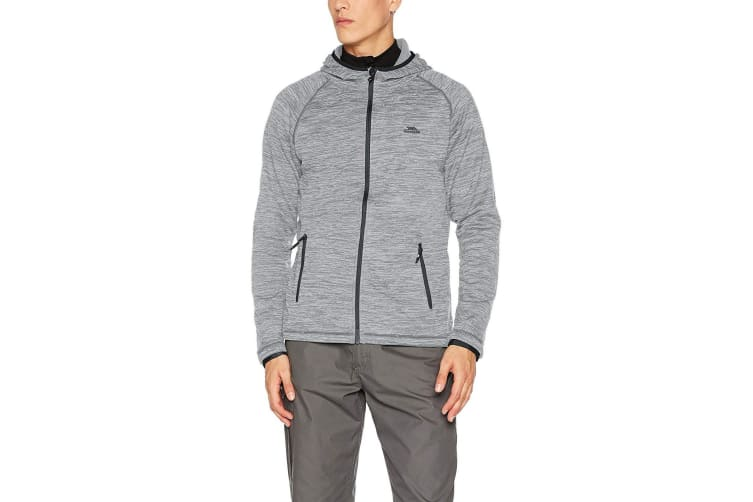 Trespass Mens Northwood Fleece Jacket (Platinum Marl) (XS)