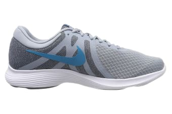 Nike Men's Revolution 4 Running Shoe (Blue/White, Size 7.5 US)