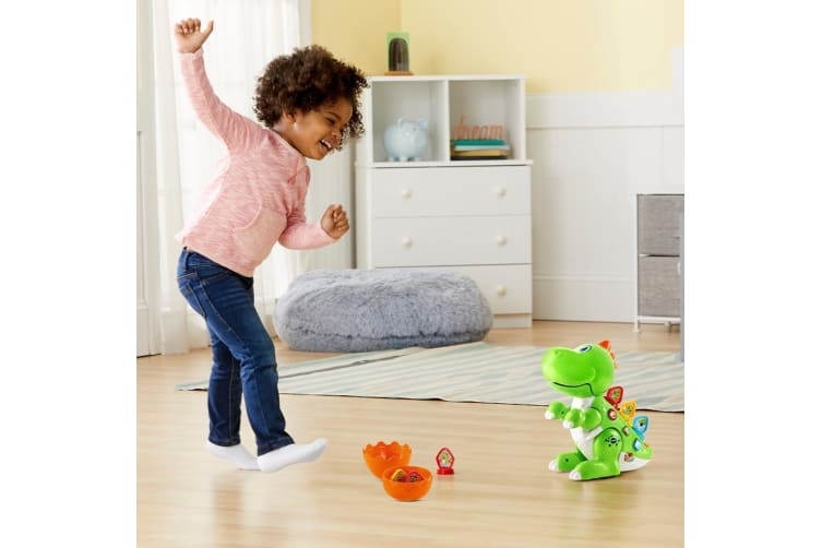 VTech Learn and Dance Dino in Green
