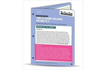 On-Your-Feet Guide - This Is Guided Reading, Grades K-2