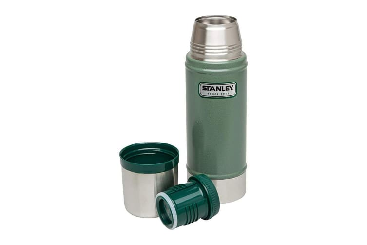 Stanley Classic Vacuum Insulated Double 470ml Bottle Stainless Steel Hot Cold