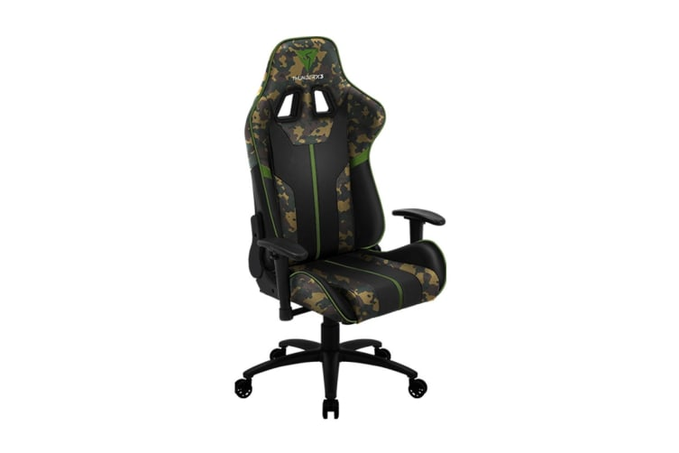 ThunderX3 BC3 CAMO Breathable Pinhole Surface Gaming/Office Chair - Green