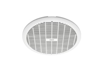 Heller 250mm Exhaust Ball Bearing Fan Bathroom Ventilation Ceiling Round White