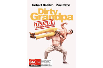 Dirty Grandpa Extended Edition Longer and Dirtier DVD Region 4