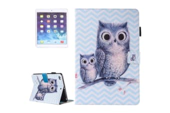 For iPad 2018 2017 9.7in Wallet Case Owly Durable Protective Leather Cover