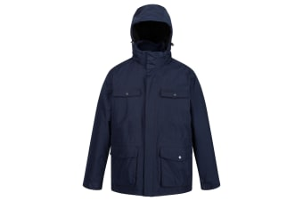 Regatta Mens Phyllon Waterproof Jacket (Navy) (S)