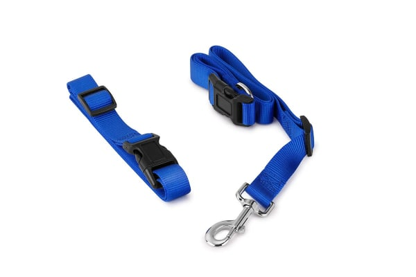 Pawever Pets Hands Free Dog Leash (Blue)