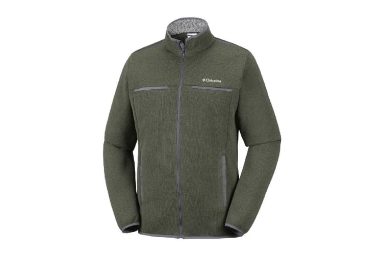 Columbia Terpin Point III Full Zip (Mosstone, Size XXL)