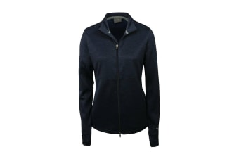 Puma Women's Heather Full Zip (Dark Blue)