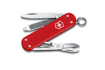 Victorinox Classic Alox Limited Edition Swiss Army Pocket Knife Blade Berry Red