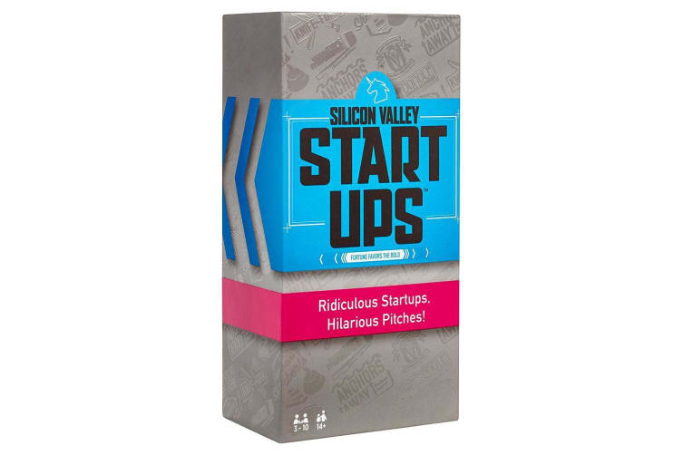 Silicon Valley Startups Game