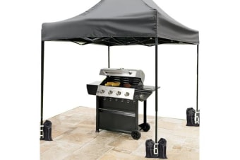 3x3m Outdoor Pop Up Canopy Tent GREY