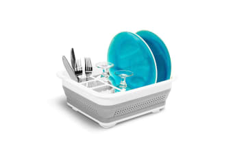 NEW Made Smart Collapsible Small Dish Rack Drying Drainer Drainer Organiser Rack