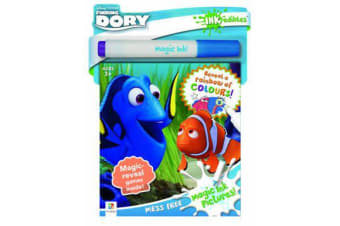 Inkredibles Finding Dory Magic Ink Pictures