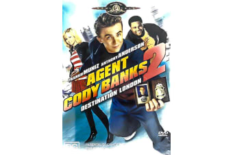 AGENT CODY BANKS 2 - Region 4 Rare- Aus Stock DVD PREOWNED: DISC LIKE NEW