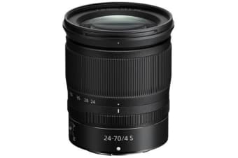 New Nikon NIKKOR Z 24-70mm f/4 S Lens (FREE DELIVERY + 1 YEAR AU WARRANTY)