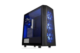 Thermaltake Versa J24 Tempered Glass Rgb Edition Mid Tower Chassis