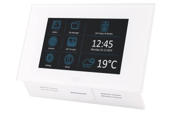 "2N Telecommunications Indoor Touch video intercom system 17.8 cm (7"") White"