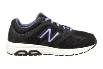 New Balance Women's 460 - D Running Shoe (Black/Violet)