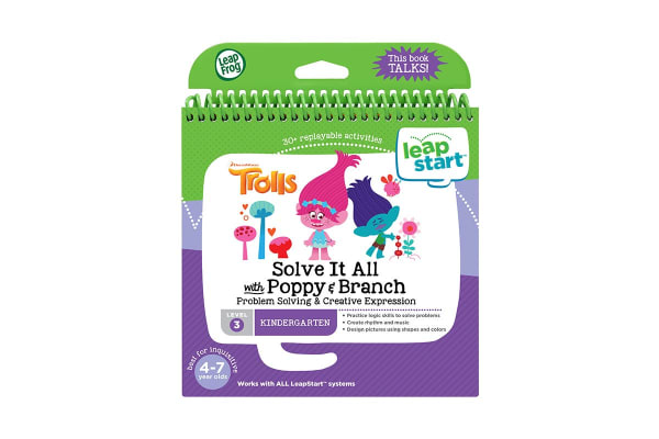 LeapFrog LeapStart Trolls Solve It All with Poppy & Branch Book