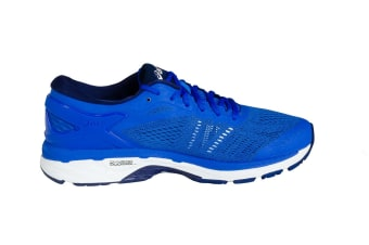 ASICS Men's Gel-Kayano 24 Running Shoe (Victoria Blue/Indigo Blue/White)