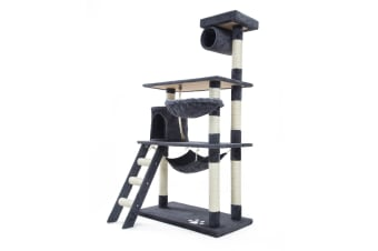 Cat Tree Scratcher MAPLE 140cm - GREY