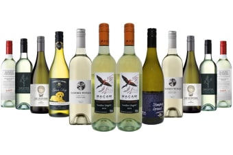 Premium Australian Classics White Mixed Dozen Incl James Halliday 5 Red Star Rated Winery Tyrrells