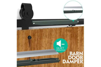 Soft Closing Sliding Barn Door Damper Hardware