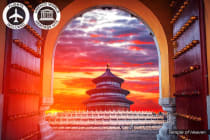CHINA: 11 Day Golden Triangle Tour Including Flights for Two