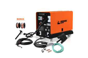 NEW ROSSMARK 180Amp MIG MAG Gas Gasless Welder Metal Inert DC Welding Machine