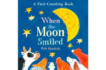 When the Moon Smiled - A First Counting Book